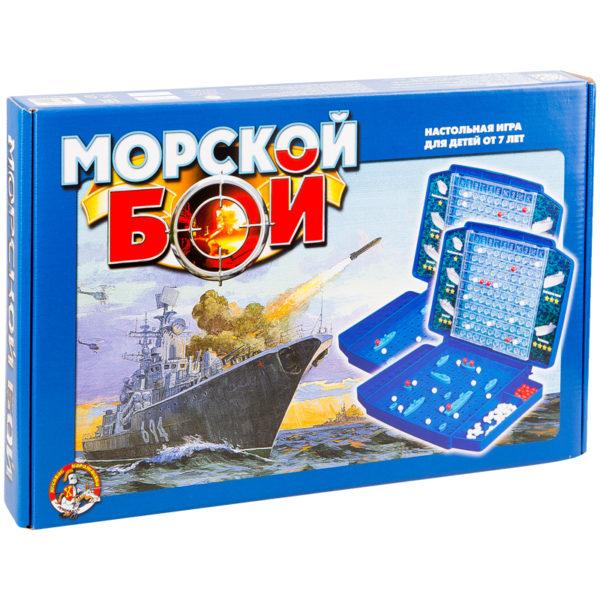 """Игра настольная Десятое королевство """"Морской бой"""", пластик, картонная коробка"""