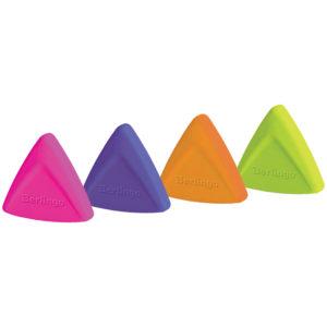 """Ластик Berlingo """"Arrow"""", треугольный, термопластичная резина, 40*35*10мм"""