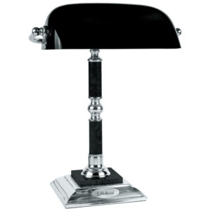 Лампа настольная Delucci, черный мрамор