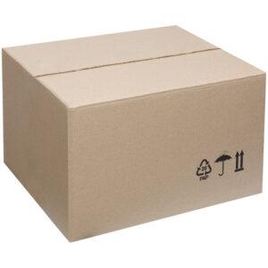 Гофрокороб 380*280*225мм, марка Т22, профиль B, FEFCO 0201 / ГОСТ исполнение А