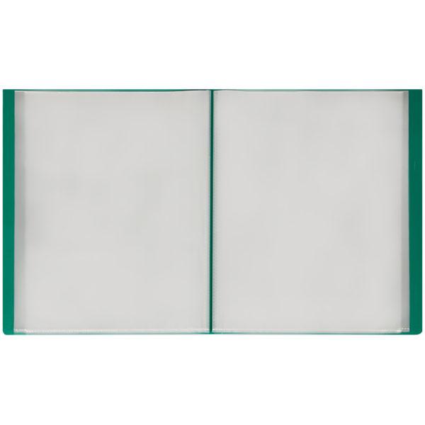 Папка с 60 вкладышами OfficeSpace, 35мм, 400мкм, зеленая
