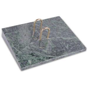 Подставка под перекидной календарь Delucci, зеленый мрамор