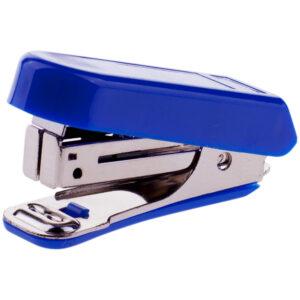 Мини-степлер №10 OfficeSpace до 7л., пластиковый корпус, синий