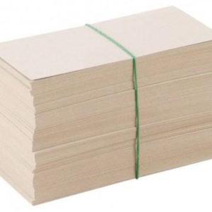 Накладка для банкнот без номинала большая, картон, 1000шт.