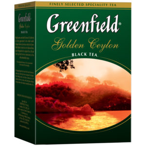 """Чай Greenfield """"Golden Ceylon"""", черный листовой, 100г"""