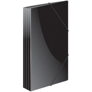 """Папка на резинке Berlingo """"Standard"""" А4, 500мкм, черная"""
