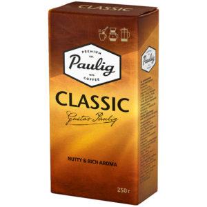 """Кофе молотый Paulig """"Classic"""", вакуумный пакет, 250г"""