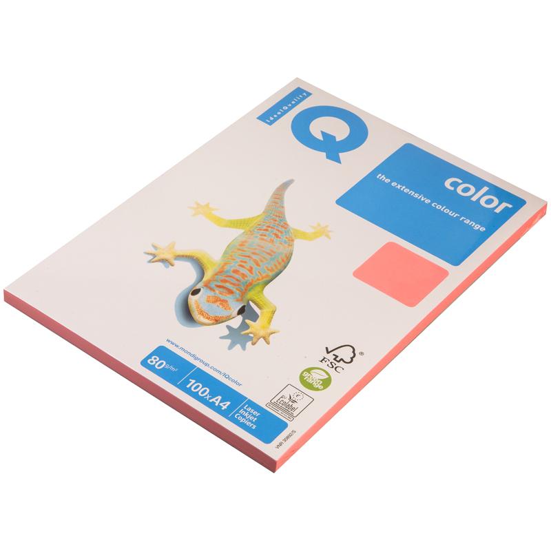 Бумага форматная цветная