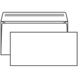 Конверт E65, Ряжская печатная фабрика, 110*220мм, б/подсказа, б/окна, кл. край