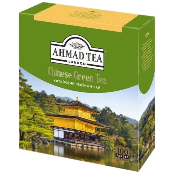 """Чай Ahmad Tea """"Китайский"""", зеленый, 100 пакетиков по 1,8г"""