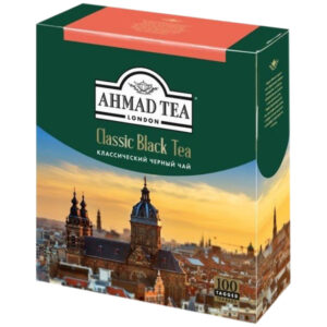 """Чай Ahmad Tea """"Классический"""", черный, 100 пакетиков по 2г"""