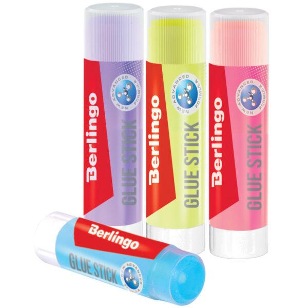 """Клей-карандаш Berlingo """"Aqua"""", 15г, цветной"""