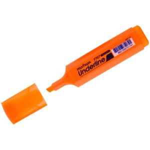"""Текстовыделитель MunHwa """"UnderLine"""" оранжевый, 1-5мм"""