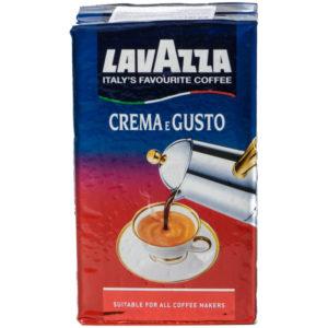"Кофе молотый Lavazza ""Crema e Gusto"", вакуумный пакет, 250г"