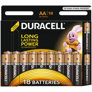 Батарейка Duracell Basic AA (LR06) алкалиновая, 18BL