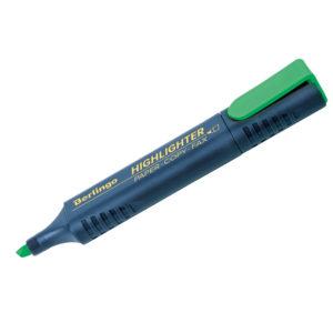 Текстовыделитель Berlingo зеленый, 1-5мм