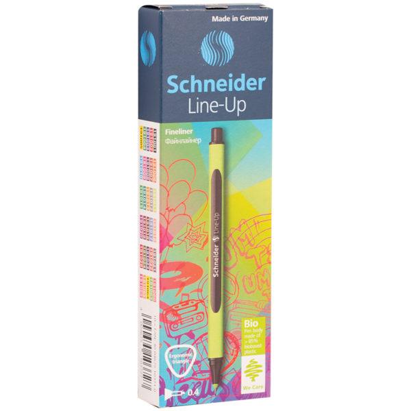 """Ручка капиллярная Schneider """"Line-Up"""" черный сапфир, 0,4мм"""