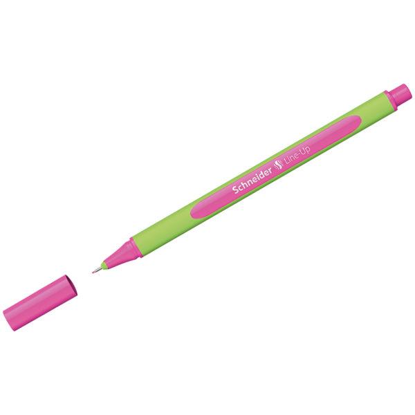 """Ручка капиллярная Schneider """"Line-Up"""" неоновая розовая, 0,4мм"""
