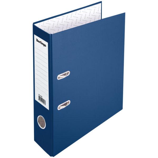 """Папка-регистратор Berlingo """"Profit"""", 70мм, бумвинил, синяя"""