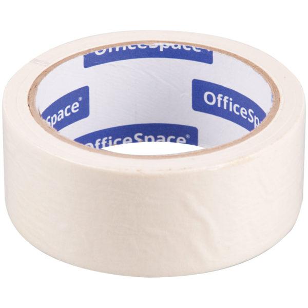 Клейкая лента малярная OfficeSpace, 38мм*25м, ШК
