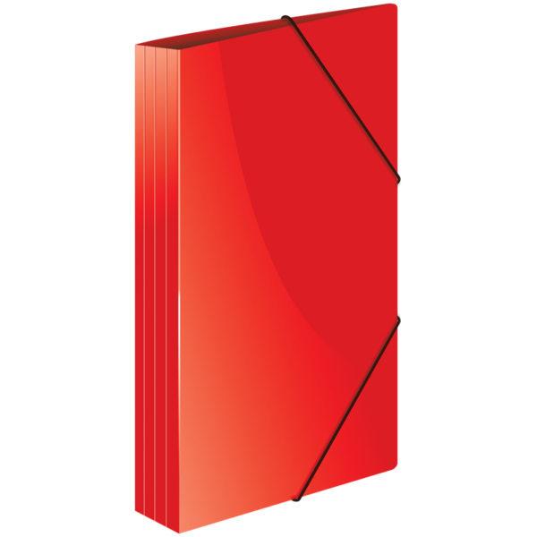 """Папка на резинке Berlingo """"Standard"""" А4, 500мкм, красная"""