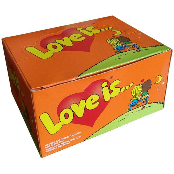 """Жевательная резинка """"Love is..."""", ананас-апельсин"""