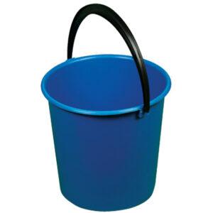 "Ведро пластмассовое OfficeClean ""Professional"", цвет синий, 10л"