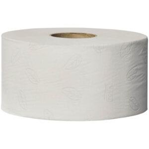 """Бумага туалетная Tork """"Advanced""""(T2) 2-х слойн., мини-рулон, 170м/рул, тиснение, белая"""