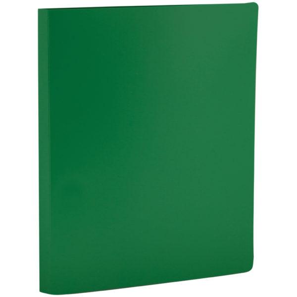Папка с зажимом OfficeSpace, 15мм, 500мкм, зеленая