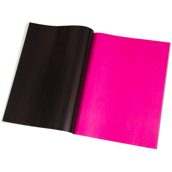 Цветная бумага A4, Мульти-Пульти, 24л., 24цв., мелованная, на скобе