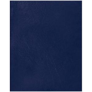 Тетрадь 96л., А5, клетка OfficeSpace, бумвинил, синий