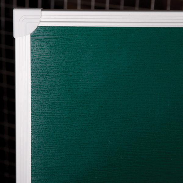 Доска магнитно-меловая OfficeSpace, 150*100см, алюминиевая рамка, полочка