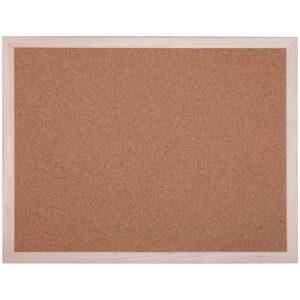 Доска пробковая OfficeSpace, 45*60см, деревянная рамка