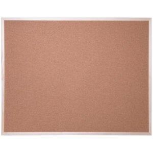 Доска пробковая OfficeSpace, 90*120см, деревянная рамка