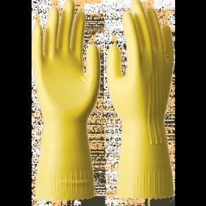 Перчатки СПЕЦ-SB хозяйственные, латекс, хлопковое напыление, 0.40/300мм