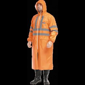 Плащ EXTRA-VISION WPL влагозащитный оранжевый