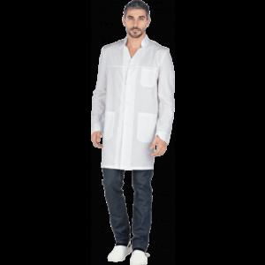 Халат ГИППОКРАТ, белый, мужской
