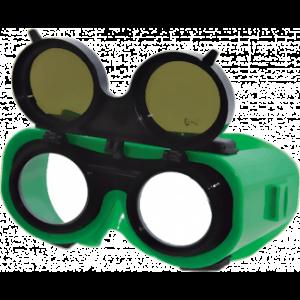 Очки РОСОМЗ™ ЗНД2 ADMIRAL (23232) (У 6), газосварочные