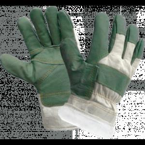 Перчатки ЗАЩИТА ЗИМА, кожа , х/б, акриловый мех