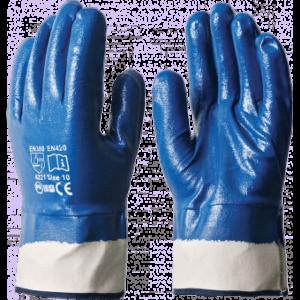 Перчатки НИТРИЛОВЫЕ КП, полный облив, крага