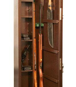 Оружейный сейф для оружия на 2 ружья КО - 037т