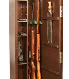 Оружейный сейф для оружия на 3 ружья КО - 038т