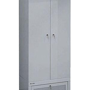 Металлический сушильный шкаф для одежды и обуви ШСО - 22М