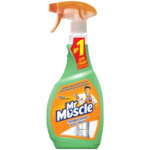 """Средство для мытья стекол Mr.Muscle с нашатырным спиртом """"Утренняя роса"""", 500мл, с курком"""
