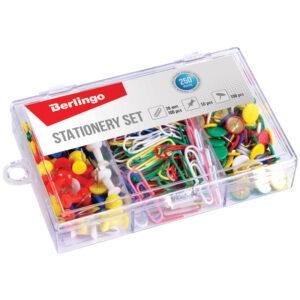 Набор мелкоофисных принадлежностей Berlingo, 250 предметов, пластиковая упаковка