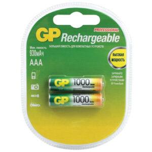 Аккумулятор GP AAA (HR03) 1000mAh 2BL