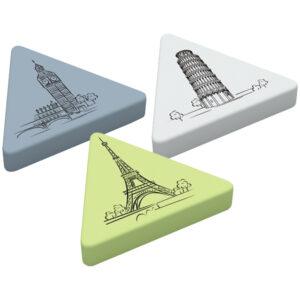 "Ластик Berlingo ""Triangle XL"", треугольный, термопластичная резина, 55*55*9мм"