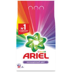 """Порошок для машинной стирки Ariel """"Color"""", 3кг"""