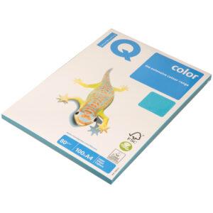"""Бумага IQ """"Color intensive"""" А4, 80г/м2, 100л. (светло-синий)"""