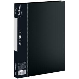 """Папка с зажимом Berlingo """"Standard"""", 17мм, 700мкм, черная"""